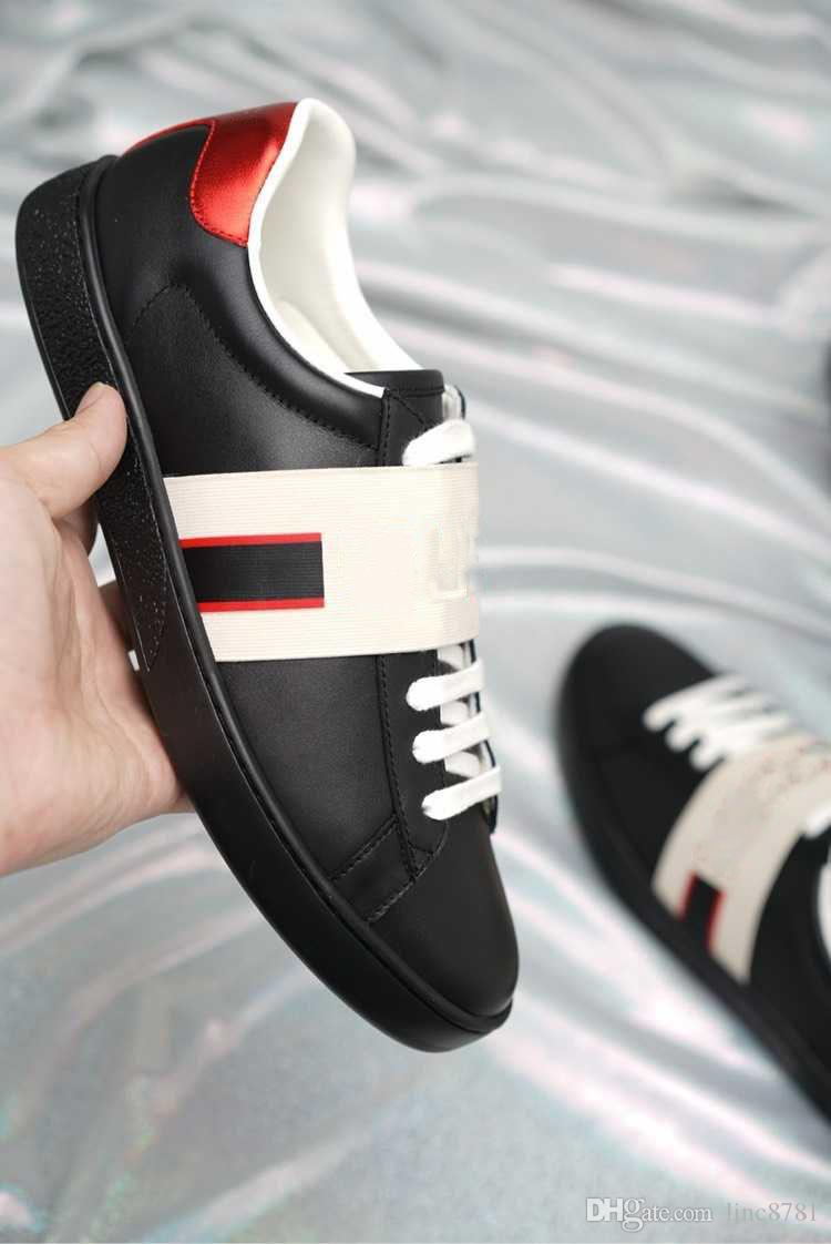wholesale sneaker men women shoes green red stripe luxury designer sneakers casual shoes with top quality original box size 34-46 for sale