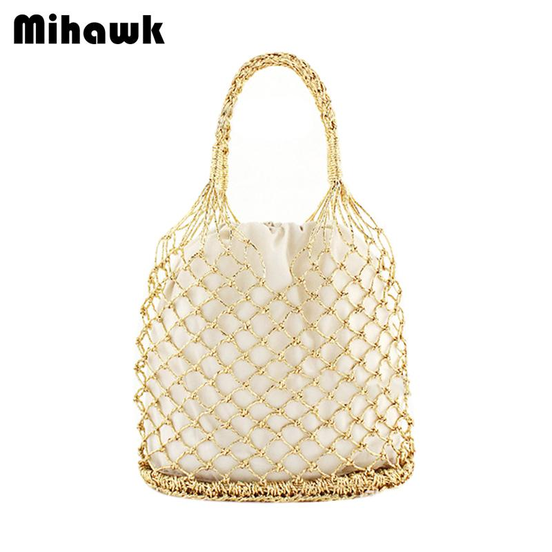 Compre Mihawk Mujeres Bolsos De Tejer De Mano Señoras Bali Island ...
