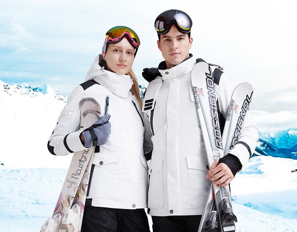 wholesale dealer 63662 6d446 Heißer Verkauf Winter Outdoor Paar Ski Schnee Jagd Angeln Baumwolle  Sportbekleidung Frauen Warmen Mantel Camping Wasserdicht Winddicht Jacken