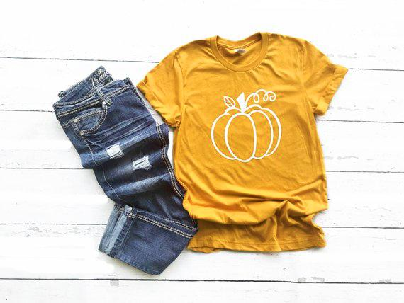 8c91dfb8 Women's Tee Summer Stylish Clothing Pumpkin Spice T Shirt Pumpkin Happy Fall  Yall Tee Cute Fall Shirt Women Graphic Grunge Tops Drop Ship