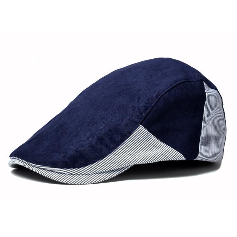 ba563295701237 2019 2018 Male Flat Cap Men Winter Chapeau Women Newsboy Cap Female Beret  Hat Femme Bone Sell Black Blue Coffee White Color From Shanqingmou, ...