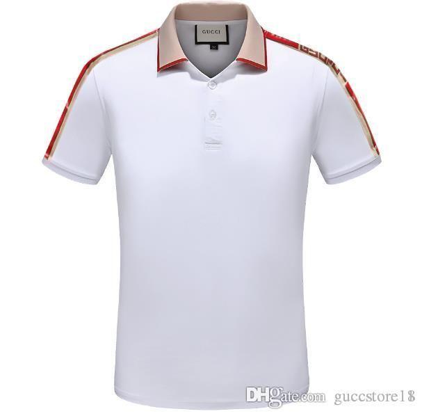 fb9960c208 2019 SpringNew Luxury Brand Embroidery T Shirts For Men USA Fashion ...