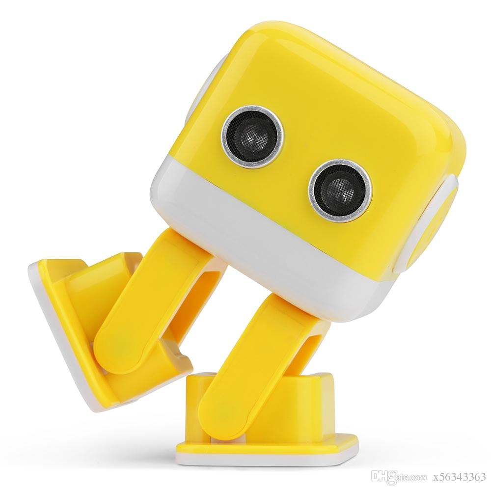 Cubee F9 Dancing Robot Bluetooth Music Player Infrared / Wifi APP Android  Intelligent Entertainment Robot with Dance Music Kids Toys