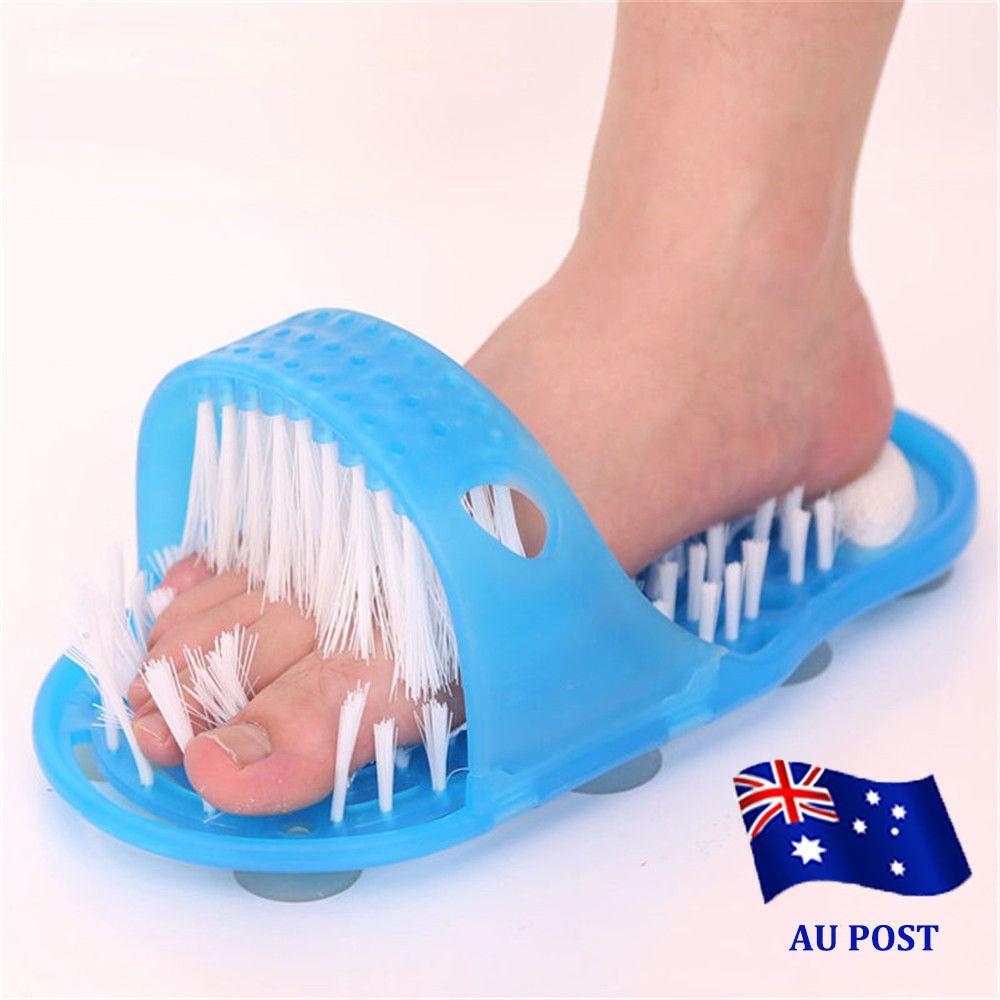 Pumice Stone Feet Foot Cleaner Scrubber Bath Massager Bathroom ...