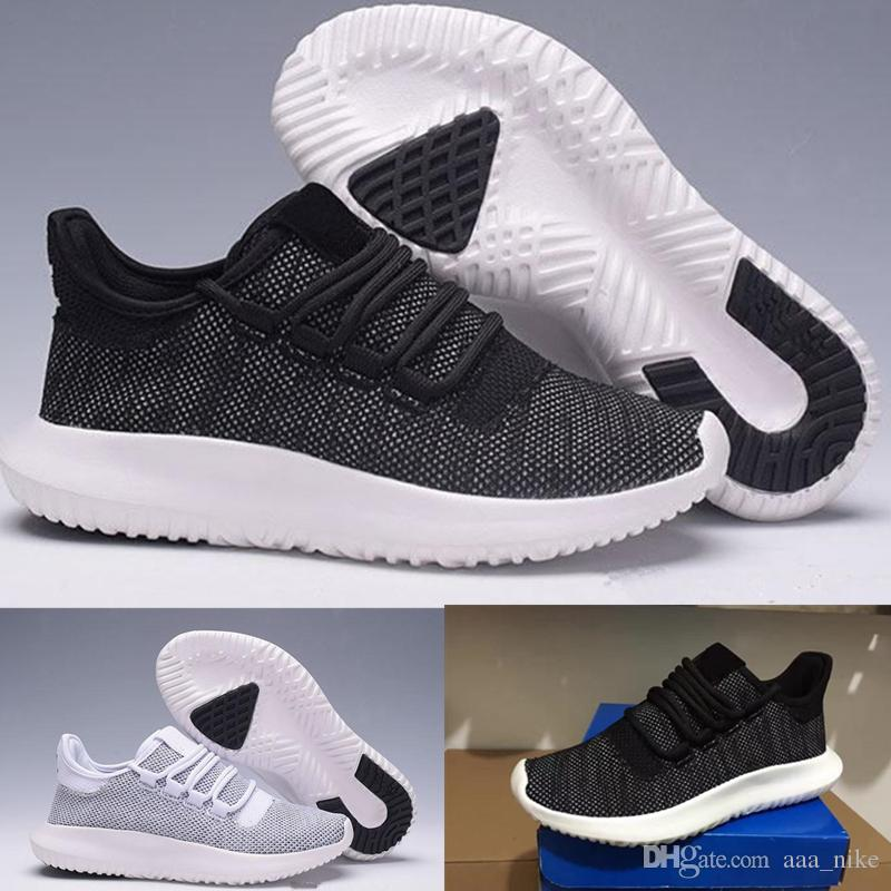 wholesale dealer b9bc5 82093 Hot Limited Sale Tubular Shadow Knit For Women Men Running Shoes 3D 350  desinger shoes Sneaker Sports Lightweght US Size5-11 a04