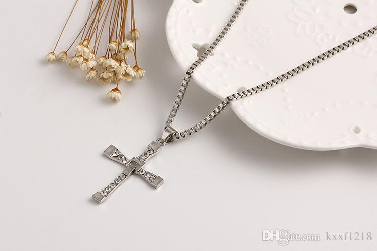 Европейский и американский многослойный крест кулон звезды ожерелье из нержавеющей стали горячая распродажа любителей ювелирных изделий кулон бесплатная доставка