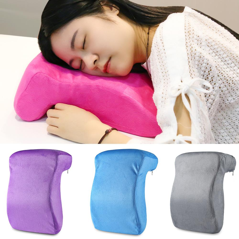 office nap pillow. Hot Sale Multifunctional Travel Memory Pillow Office Nap L Shape Slow Rebound Foam For Desk Sleeping Insert Large Throw Pillows From O