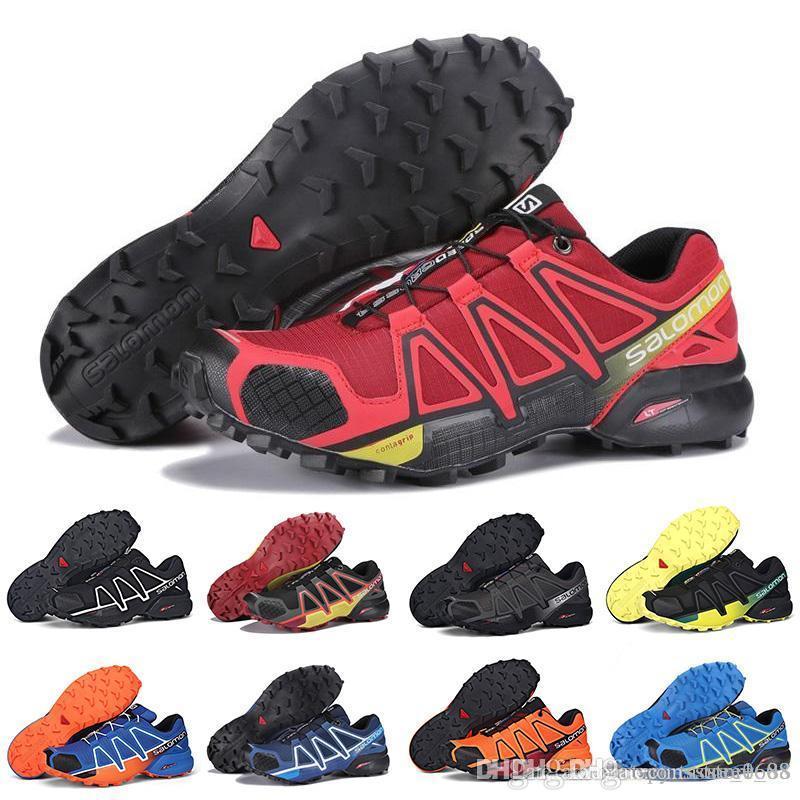2a172da7261e Compre Venta Al Por Mayor Más Nuevos Zapatos Salomon Zapatos Hombre Speed  Cross 3 CS III Zapatillas De Deporte Hombres Speedcross 3 Zapatos  Deportivos ...