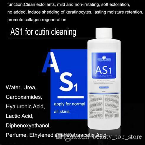 Hydrafacial Máquina de Uso do Aqua Peeling Solution 400 ml por frasco do Aqua Facial Serum Facial Serum Hydra para pele normal do Aqua Peeling Solution