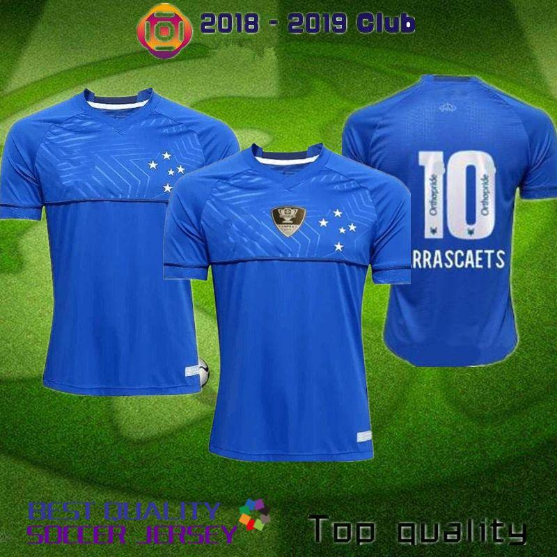 2019 CRUZEIRO 2018 2019 Soccer Jersey 18 19 DE ARRASCAETA FRED ROBINHO  THIAGO NEVES Football Shirt Cruzeiro Home Brazilian Club Camisas S XXXL  From Wutb 3f65628abc194