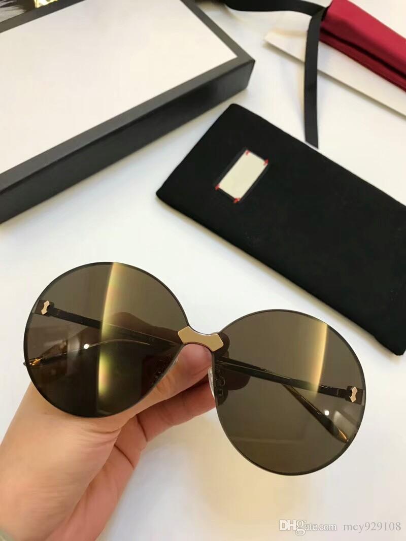 0353 nueva moda de los hombres gafas de sol de las gafas de sol para hombre simples mujeres populares gafas de sol al aire libre de la protección de verano UV400 gafas al por mayor con el caso