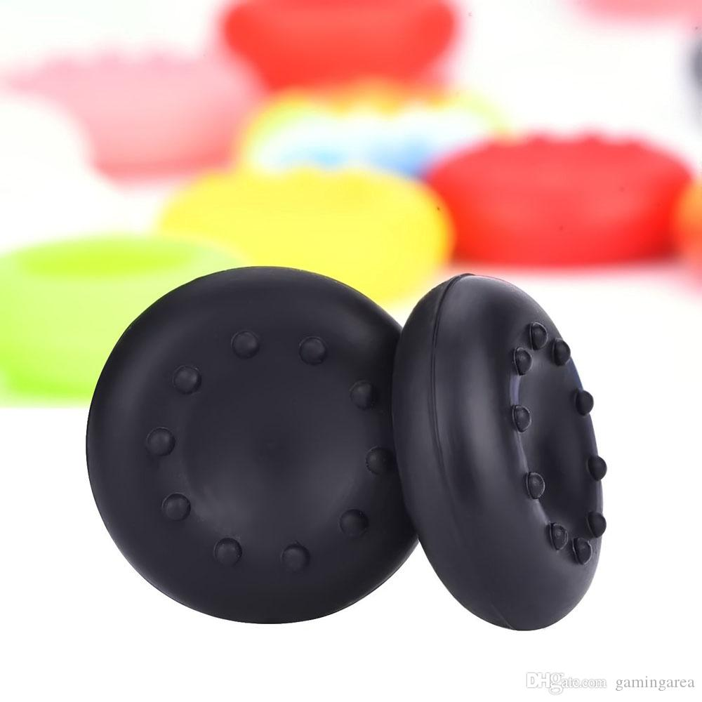 Rubber Silicone Skidproof Hand Thumbstick Grips Thumb Grip Cap Caps Cover for PS4 PS3 XBOX ONE 360 controller DHL FEDEX EMS