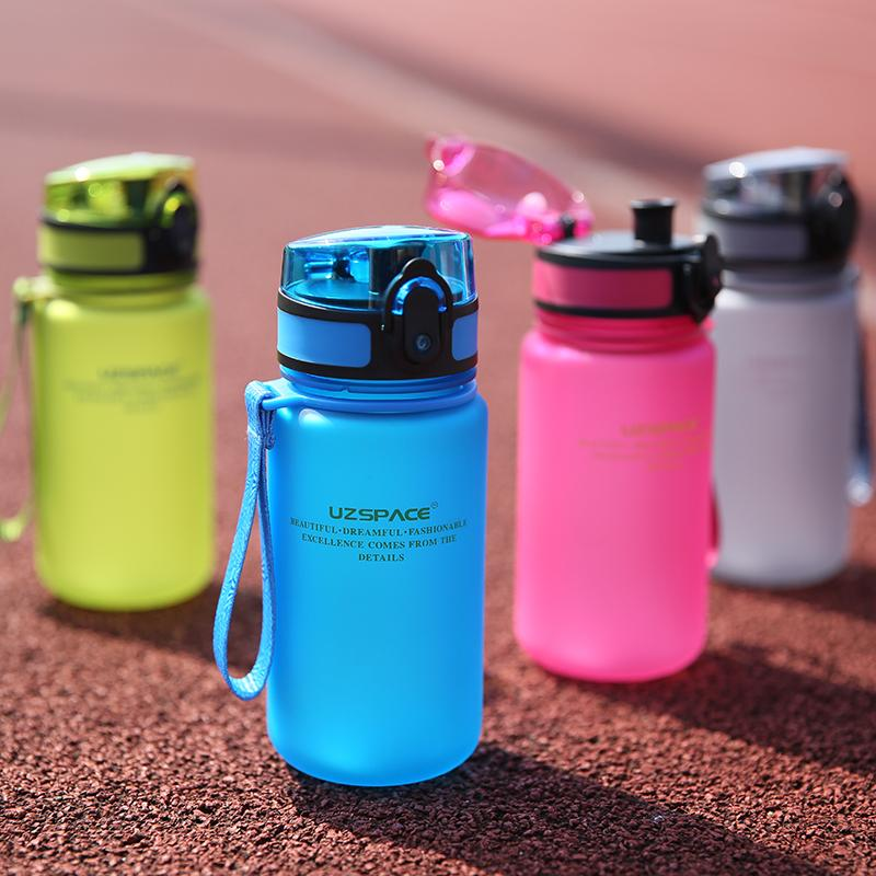 350ml My Water Bottle Sport Child Kid Adult Cartoon Mini Lovely Eco  -Friendly With Lid Straw Plastic Tritan Material Type