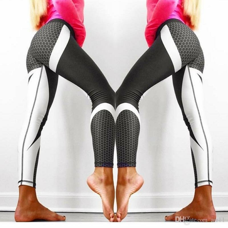 6c35d2c572fae Sexy Shaping Hip Yoga Pants Women Fitness Tights Workout Gym Running ...
