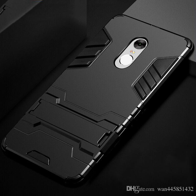 Pour Xiaomi Redmi Note 4x Case 4 Couvercle En Plastique Support Silicone Anti Knock Pro Noir Biue Rouge