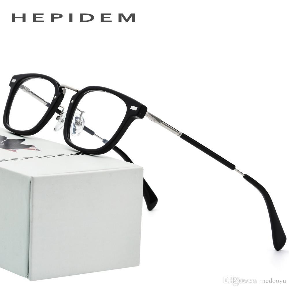 Großhandel Acetat Brillengestell Männer Kleine Quadratische ...
