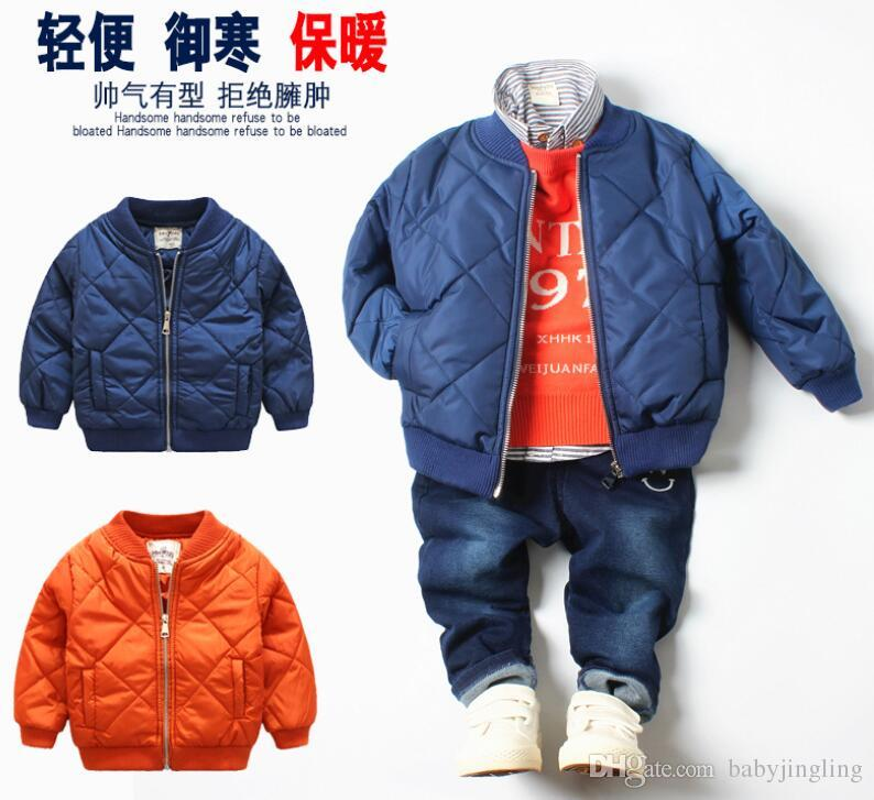 9441a4e1d Autumn winter Hooded Jackets Children Thicken Coat Kids Jacket Boys Parkas  Outerwear Coats faddish Baby Boy Clothes Clothing