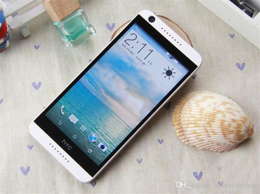 Refurbished Original HTC Desire 626 4G LTE 5.0 inch Octa Core 2GB RAM 16GB ROM 13MP Camera Android Smart Mobile Cell Phone Free Post