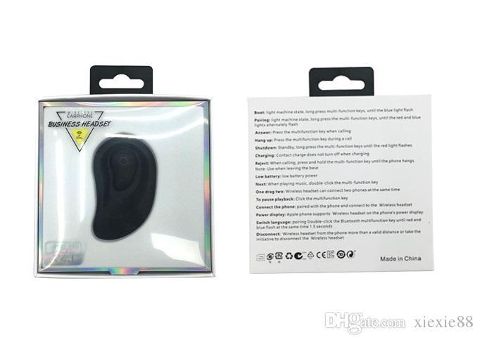 TBS-8 Wireless-Ohrhörer Mini Wireless Bluetooth Headset Ohrhörer für ultra-kleine versteckte In-Ear-Ladestation 4.1 10 Meter Übertragung
