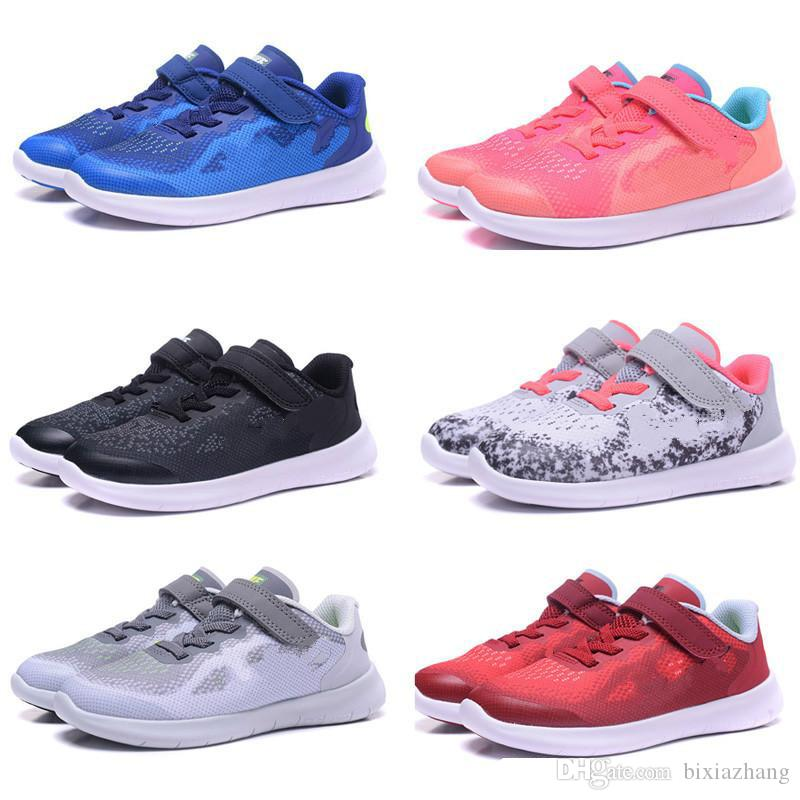 743b7f7bfe0 Professional Wholesale New Free Run 5.0 Kids Children Trainer Running Shoes  Boys Girls Runner Sports Jogging Sneakers US 6C 3Y Little Boys Sneakers  Toddler ...