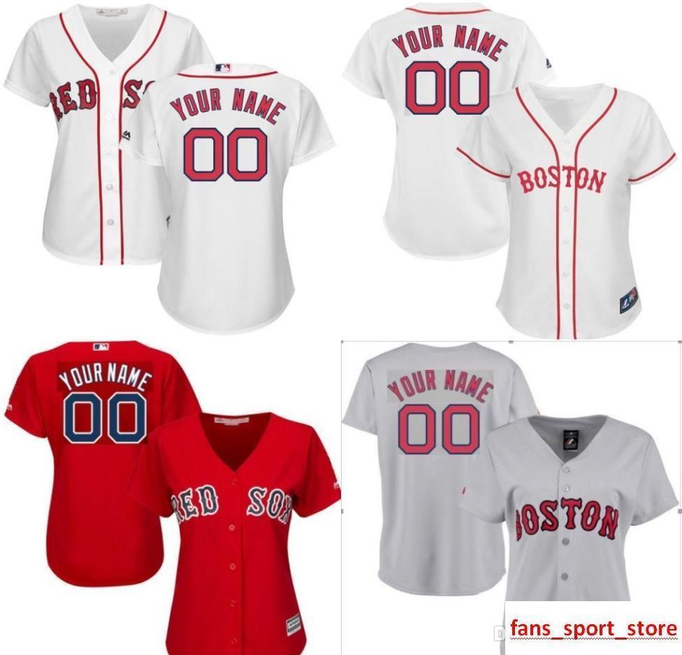 Red Sox Adult Crewneck Sweatshirt Personalized Custom Name /& Number
