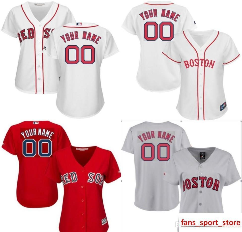 7a88cabba 2019 Custom Women Bn Red Sox Personalized Home Jersey 2015 New Customized  Baseball Jersey Top Quality Size S 2XL From New jersey store