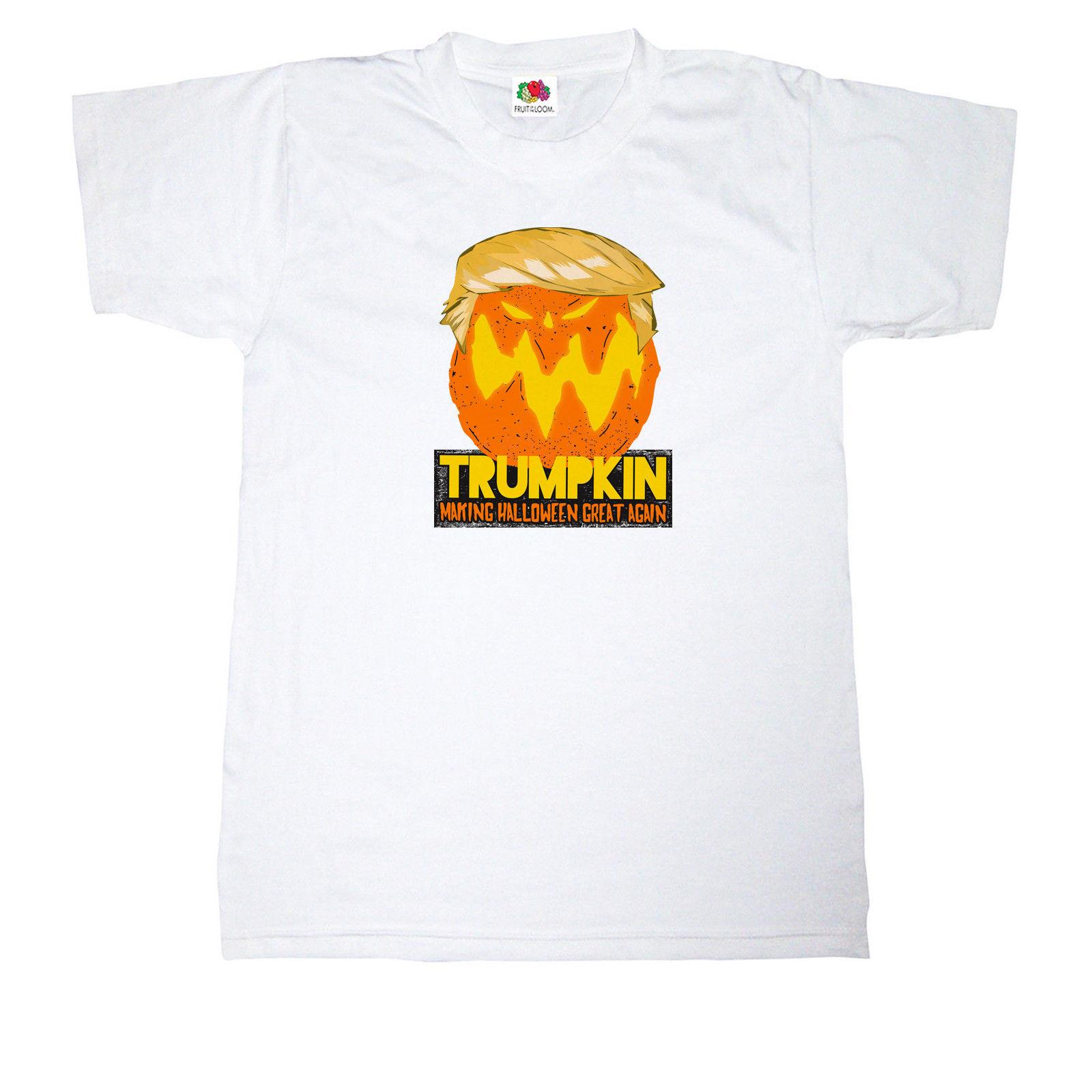 d21291cca Mens Fit TRUMPKIN MAKING HALLOWEEN GREAT AGAIN FUNNY JOKE White Mens Fit T  Shirt Funny Tee Shirts Mens T Shirt From Robotrave21, $11.17| DHgate.Com