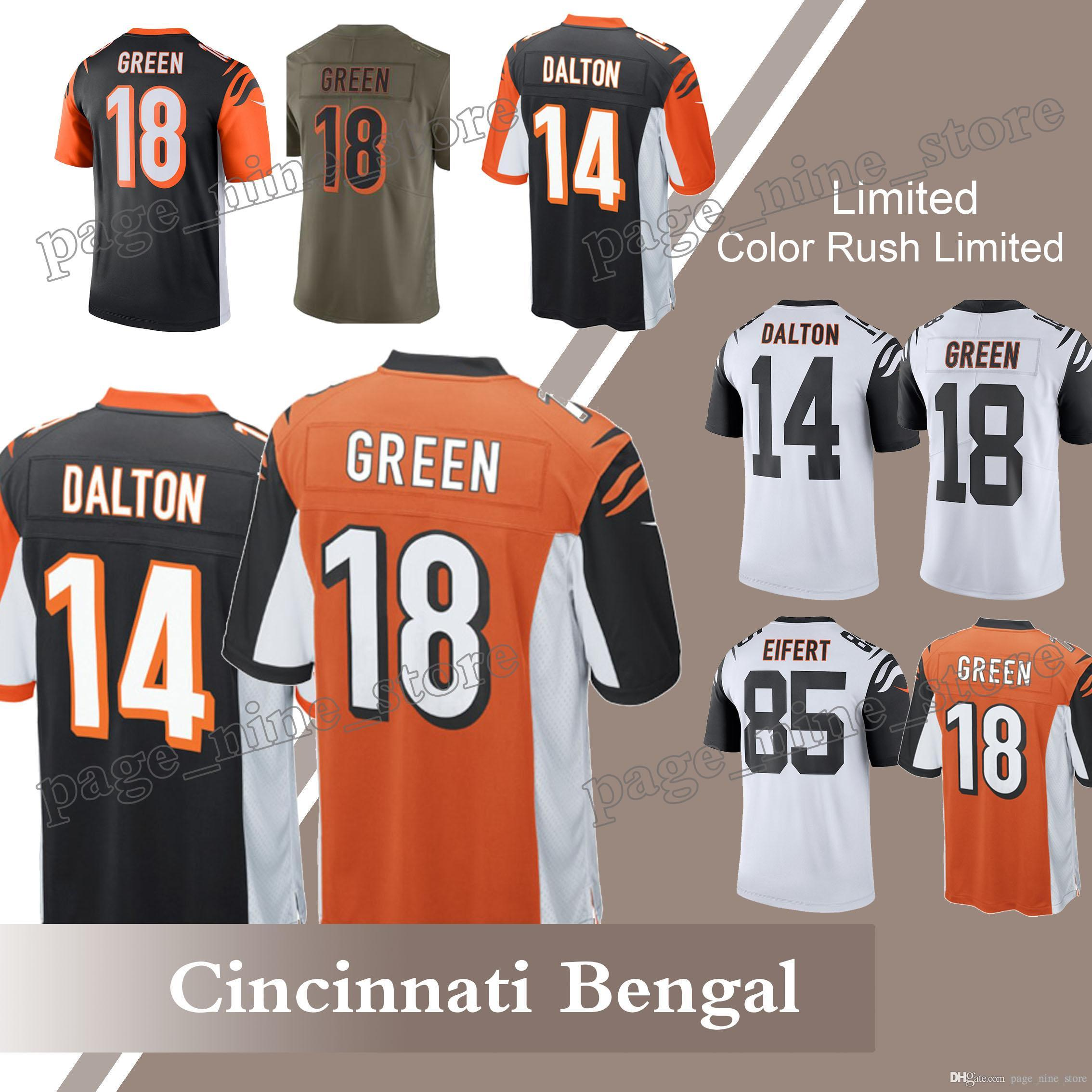 andy dalton color rush jersey