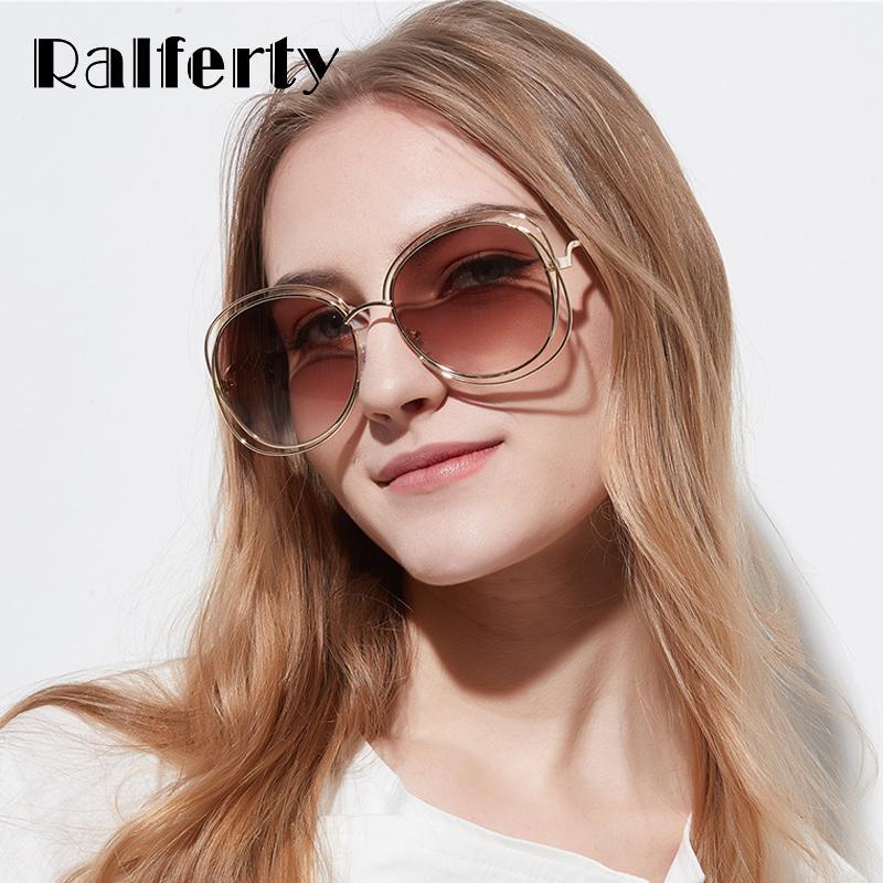 prix modéré haut fonctionnaire parcourir les dernières collections vente en gros 2018 lunettes de soleil à la mode femmes designer fil  lunettes de soleil lunettes de soleil femme UV400 brun nuances lunette de  soleil ...