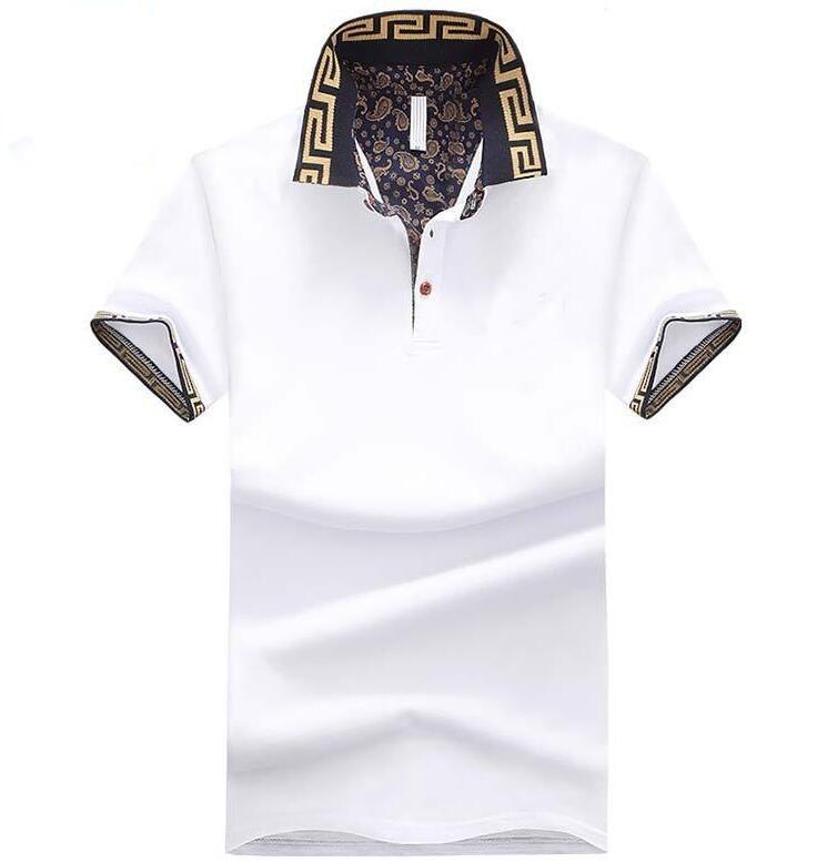 1e4121dbca5e Men s Polo Shirt Style Summer Fashion Men Lapel Polo Shirts Cotton ...