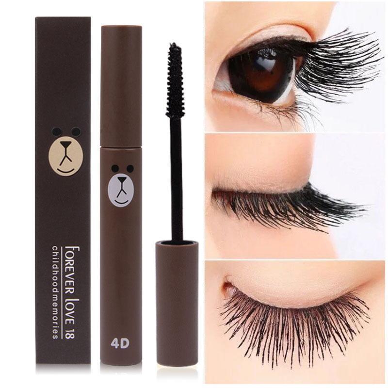 5d9cd0ec16f Wholesale 2017 New Fashion Cute 4D Fiber Mascara Long Black Lash Eyelash  Extension Waterproof Eye Makeup Lovely Mascara Cosmetics Mascar Cosmetic  Bags ...