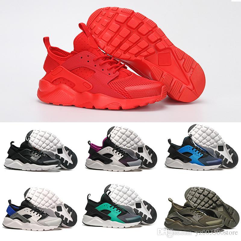 dbcab6b25dc5 2019 2018 New Colors Huaraches 4 IV Running Shoes For Women   Men ...