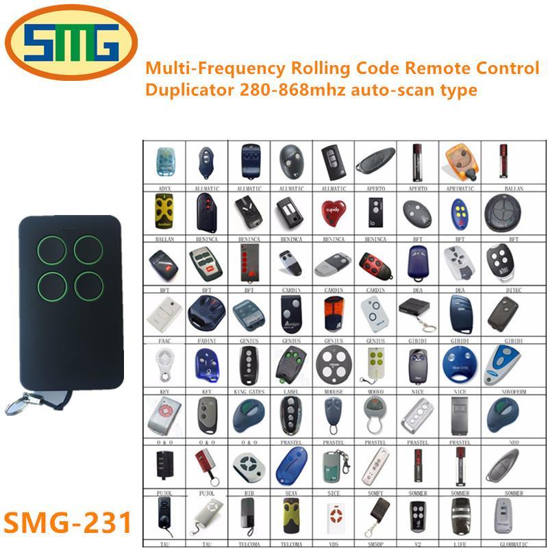 Electric Face To Face Copy Garage Door Opener Remote Control 4