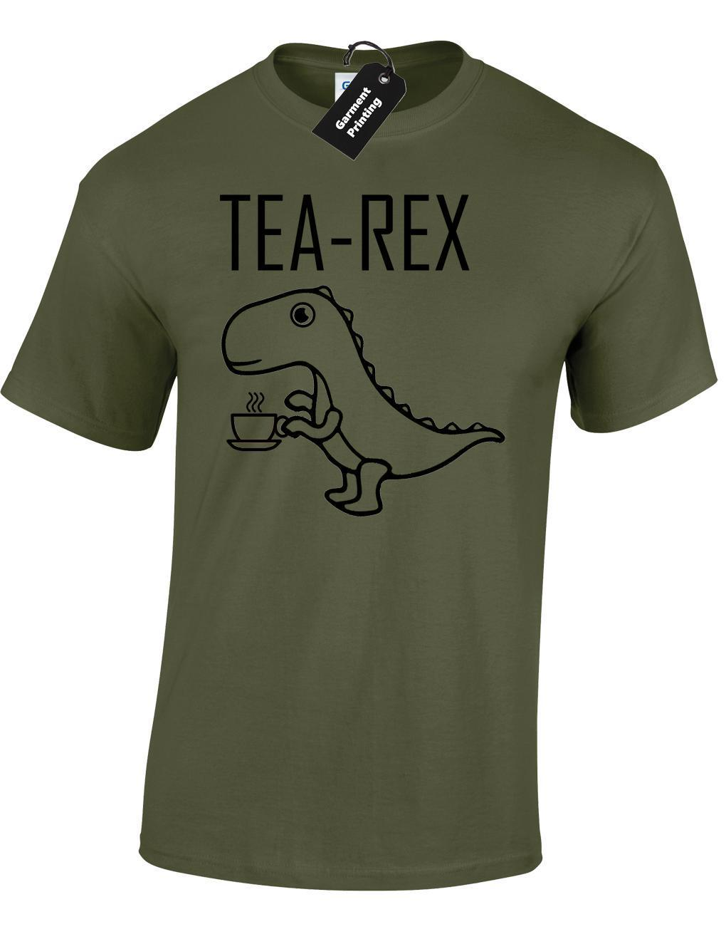 3d017267 TEA REX MENS T SHIRT FUNNY JOKE PUN JURASSIC DINOSAUR DRINK COFFEE NOVELTY  GIFT Awesome Tee Shirt Designs T Shirts Awesome From Peng32, $14.67|  DHgate.Com