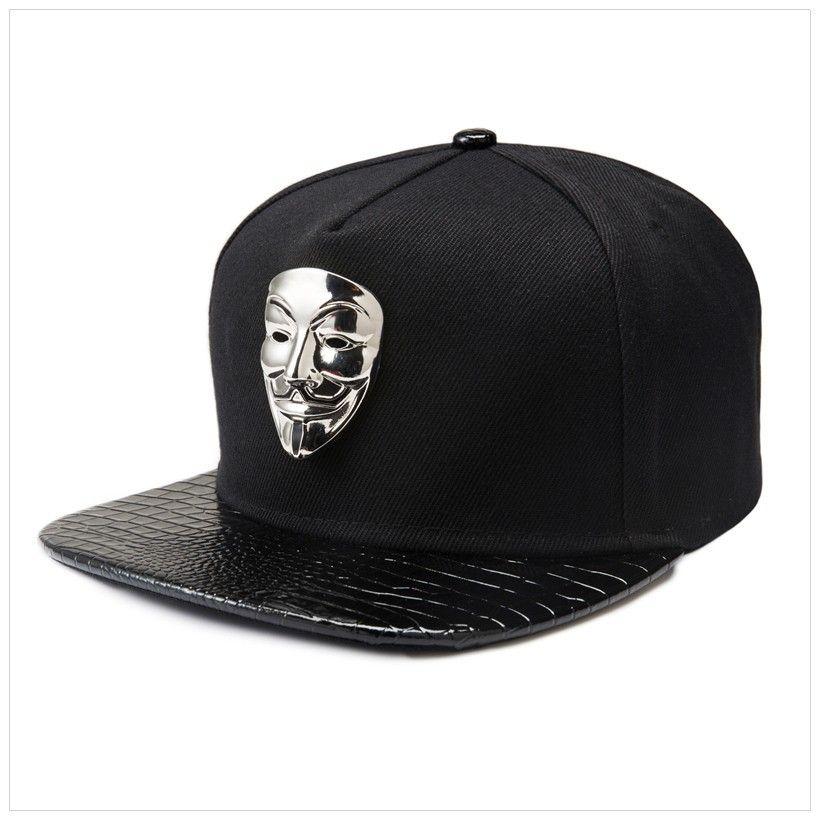 PU Leather Baseball Caps Adjustable Black Snapback Baseball Cap Men Women Dance Hip Hop Hats Sport Snap Back Hat America Fashion Hiphop Hat