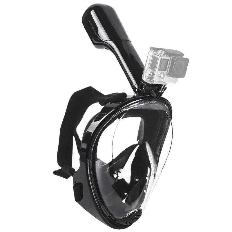 4b846f56c Compre S   M Natação Mergulho Snorkeling Máscara Facial Tipo De Criança  Superfície Scuba Para Gopro De All sport