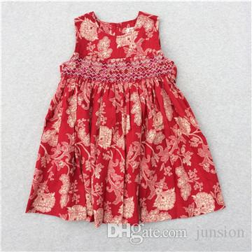 c9ddb3e8bb81 2019 Girls Dresses 2018 Summer Lovely Baby Girls Dresses Casual Party  Dresses Bohemian Princess For 3 7 Years Kids Dress Fast Shipping From  Junsion