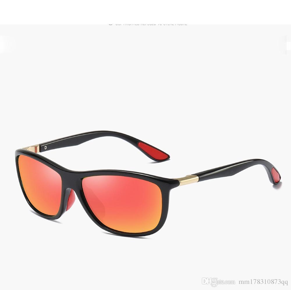 960c54f3c9d0 2018 Мода овальные солнцезащитные очки женские и мужские поляризованные ...