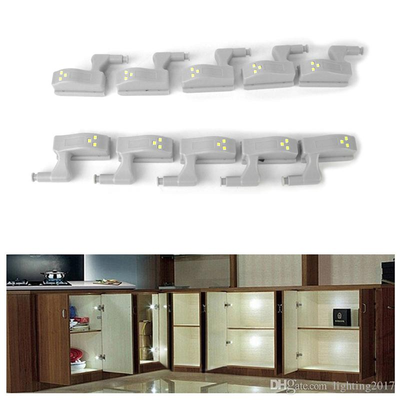 2019 Led Cabinet Lights Sensor Lamp Wardrobe Cupboard Door Night