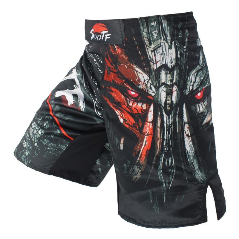 98b4af7df8 Compre Novos Produtos Homem MMA Shorts Sanda Luta Ginásio Muay Thai Calças  De Pontapé Livre Masculino Calças De Treinamento De Esportes Troncos De  Boxe De ...