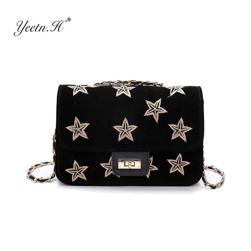 4d73f960807e H Embroidery Crossbody Women Messenger Bags Corduroy Luxury Handbags Women  Bags Designer Stars Fashion Lock Sac Y2208 Messenger Bags For Women Leather  ...