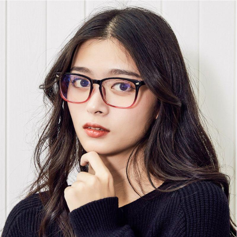 46d98bd0bb 2019 2018 Women Retro Square Eyeglasses Frame Female Glasses Vintage Optical  Eyeglasses Transparent Frame Fashionable Transparent Ladies Frames From ...