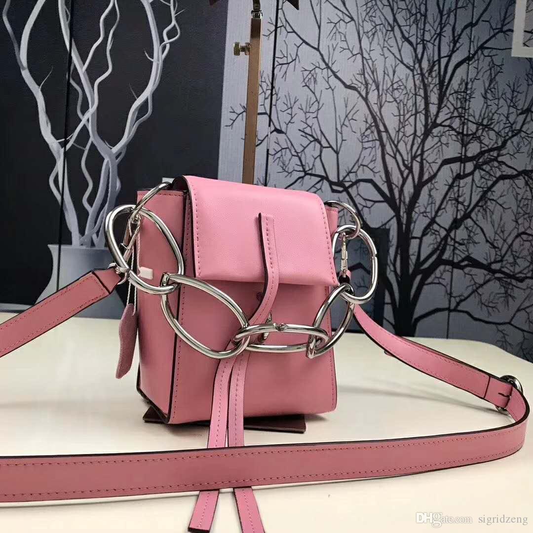d1a7107047 Multifunctional Female Models Shoulder Messenger Litchi Leather Small  Bucket Bag Hardware Metal Buckle Handbag Ivanka Trump Handbags Best  Messenger Bags ...