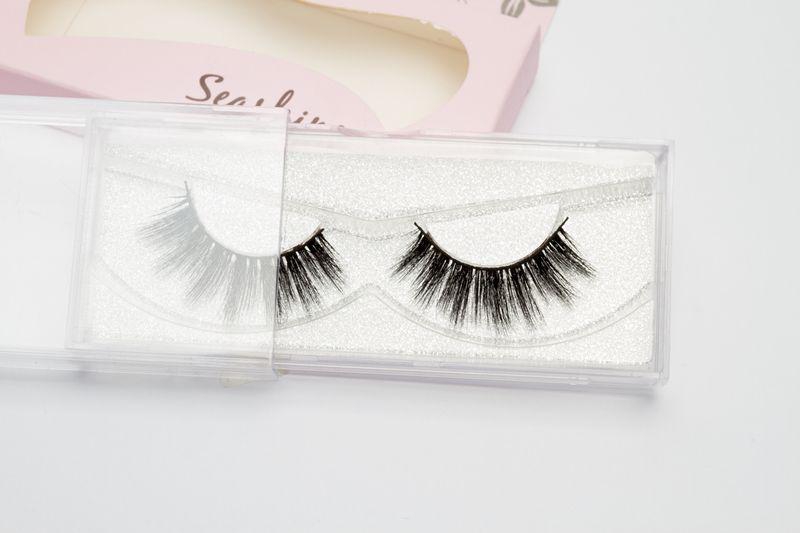 d70894b1c67 2018 Seashine Manufacturer Wholesale 3d Brand New Fashionable Style Faux  Mink Eyelash Extension Full Strip Eye Lashes Double Eyelashes Eyelash  Extensions ...