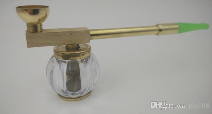 Brass Hookah Pipe Filter Dry Pot Old Hanyan Rod Dual-purpose Cigarette Holder