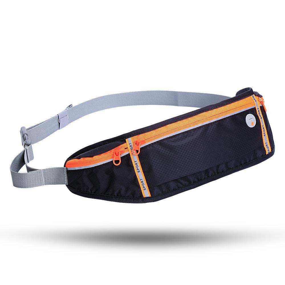 HuaTLake Running Belt Pack - Waterproof Running Pack Reflective Fanny Adjustable Pouch for All Kinds of