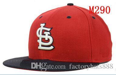 5cbd5459d51 Fitted Hats Sunhat Cardinals Team Baseball Embroidered Team Letter ...