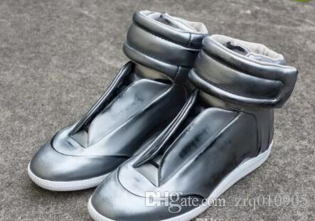 Men Flats MMM High Help Handmade Shoes Wholesale French Designer ... 6c38e255ca18
