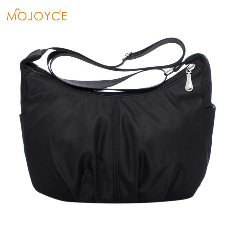 8c7d9510c98a Waterproof Nylon Women Messenger Bags Female Hobos Crossbody Shoulder Bags  Casual Clutch Carteira Vintage Hobos Ladies Handbags Hobo Purse Leather  Hobo Bags ...