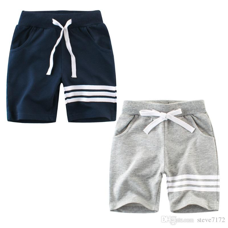 785bd0de00ab Casual Pants For Boys Clothes Children Harem Pant Striped Baby Boy Shorts  Panties Cotton Kid Sport Trouser 2 7 Year Soft Boy Shorts For Guys Baby  Denim ...